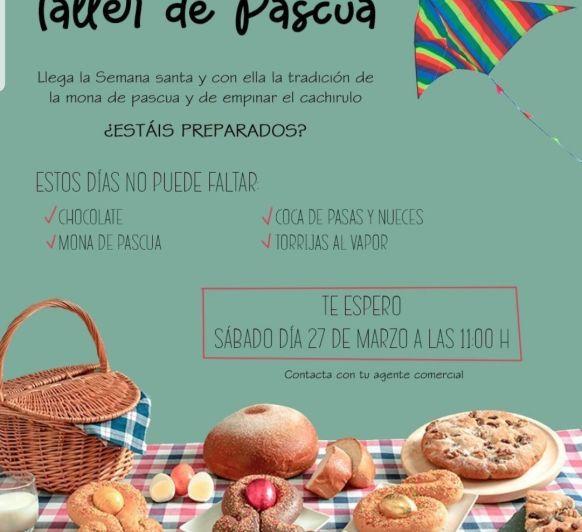 TALLER DE PASCUA. HACEMOS NUESTRAS PROPIAS MONAS