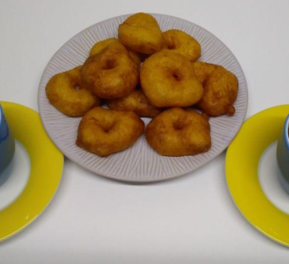 Riquísimos Buñuelos de Calabaza con Chocolate a la Taza