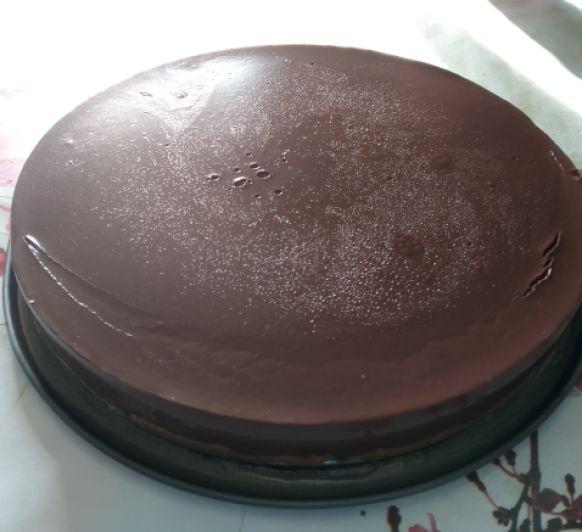 Tarta rápida de chocolate