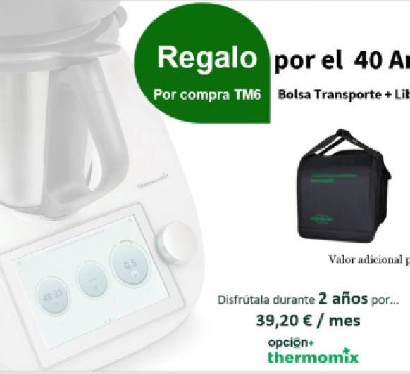 !!CELEBRAMOS 40 AÑOS Y Thermomix® VIENE CON REGALOS!!