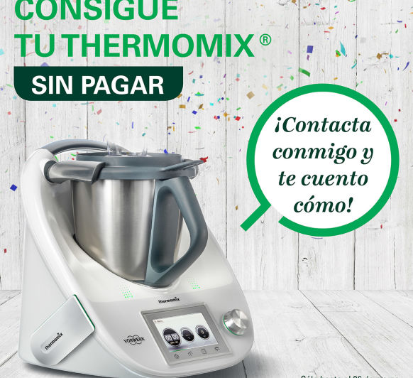 Cosigue gratis tu Thermomix®
