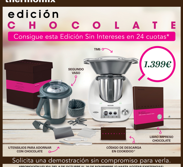 EDICION CHOCOLATE - SIN INTERESES EN 24 CUOTAS