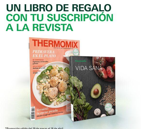 Nueva Promoción para suscripciones a Thermomix® Magazine