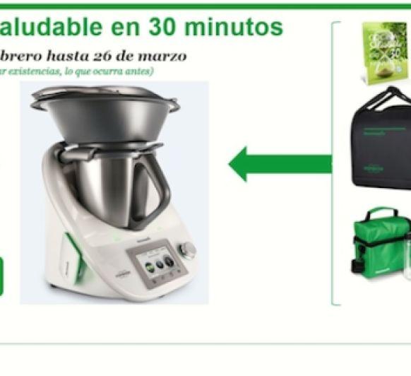 Cocina saludable en 30 minutos o menos es posible y ¡ahora 0% SIN INTERESES!