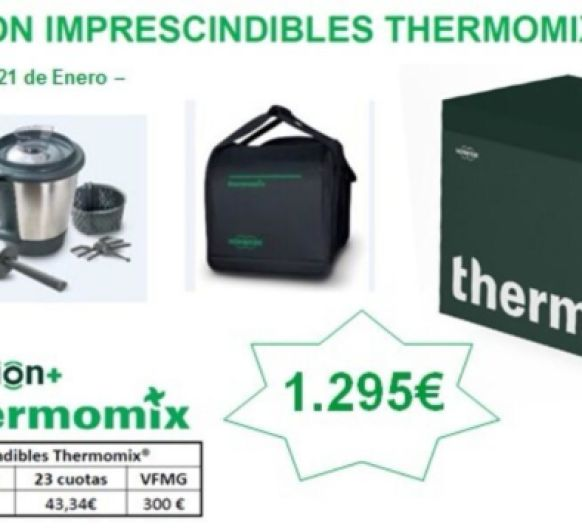 CONSIGUE Thermomix® CON VASO DOBLE