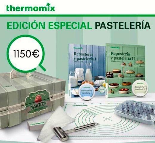 Thermomix® MÁS LA EDICIÓN ESPECIAL PASTELERÍA