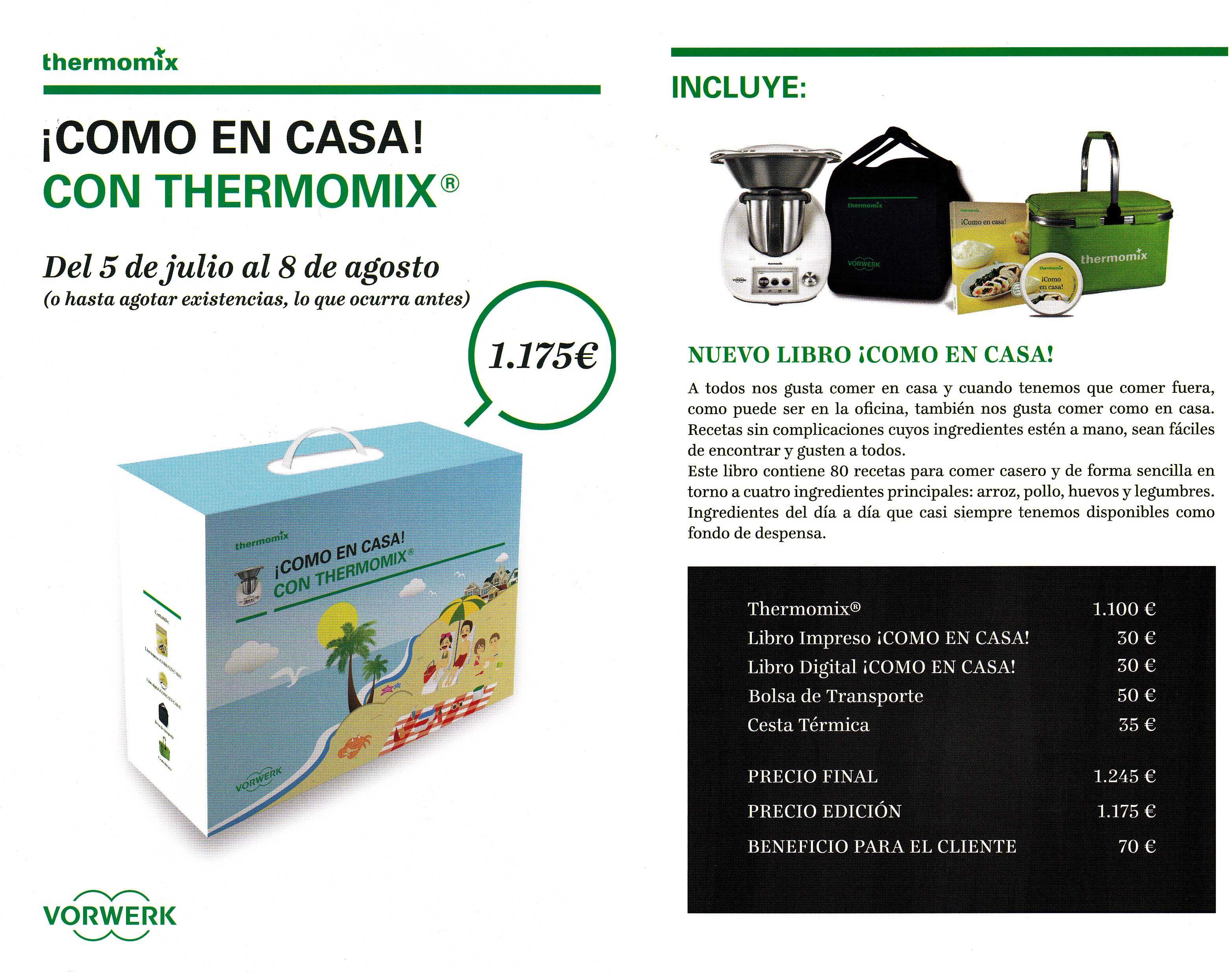 Nueva Edición ya disponible: ¡Como en casa! con Thermomix®