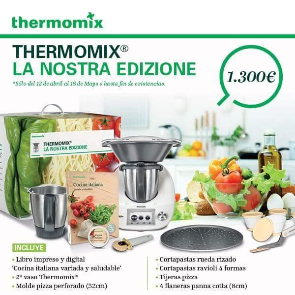 La Nostra Edizione, la nueva edición de Thermomix® , ¡ya disponible!