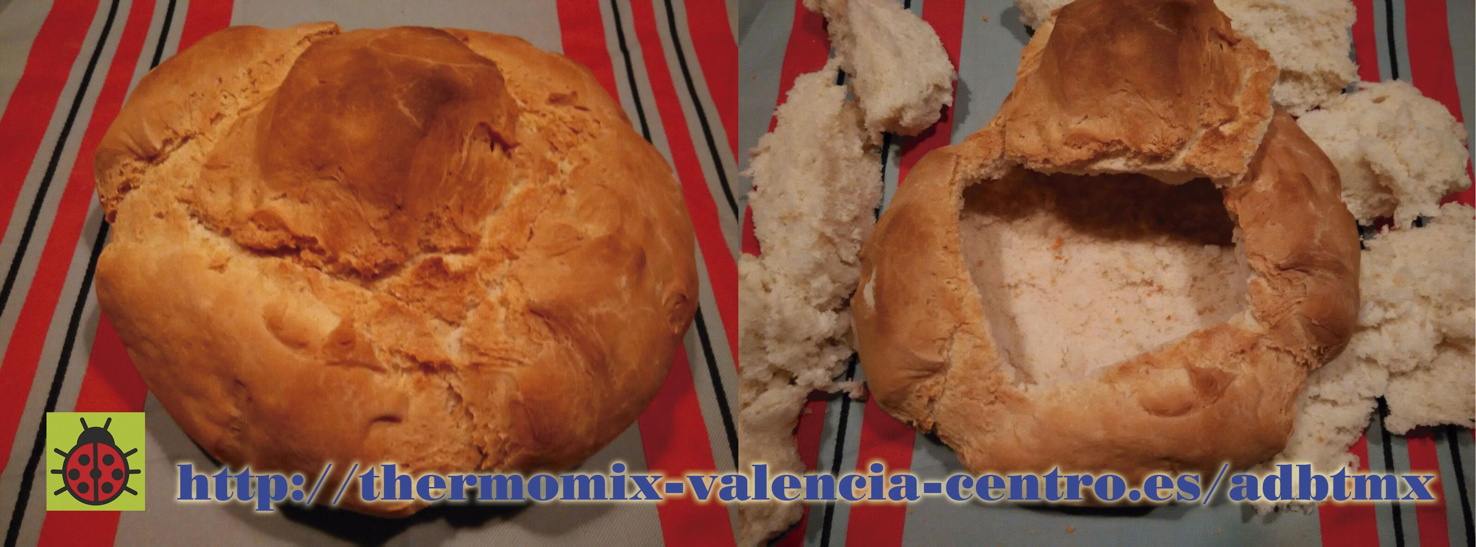 Fondue en pan