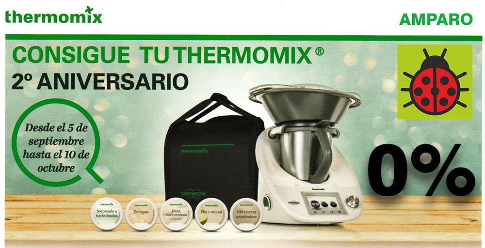 La nueva Thermomix® cumple 2 años.