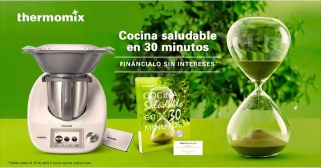 Edici n cocina saludable en 30 minutos 0 sin intereses for Cocina saludable en 30 minutos thermomix