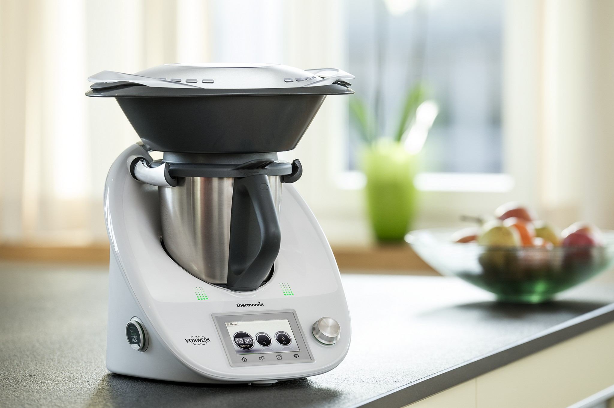 Thermomix tm5 pantalla t ctil y recetas digitales for Cocinar 4 niveles thermomix