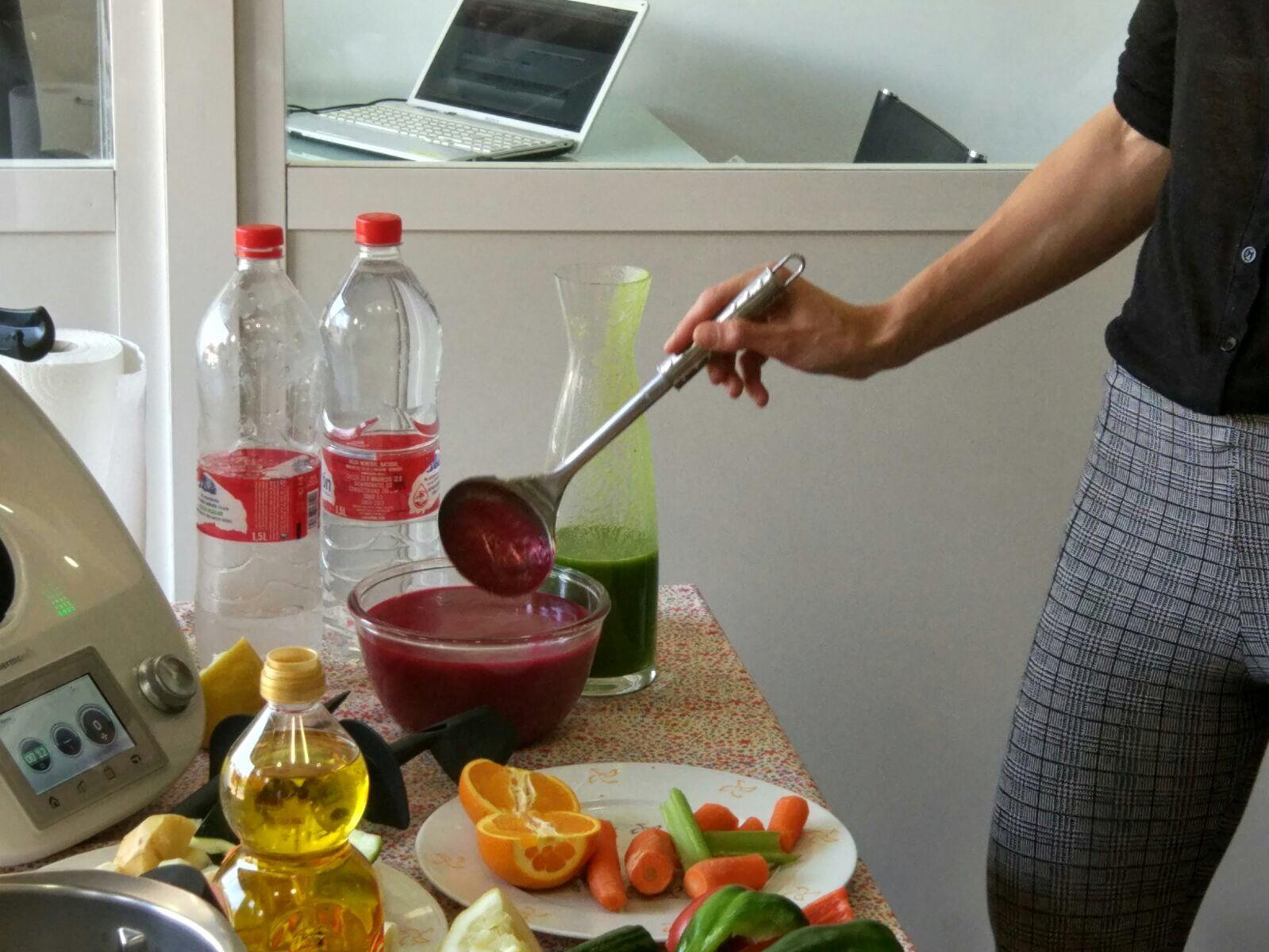 Gazpacho Exótico de Remolacha con Thermomix®
