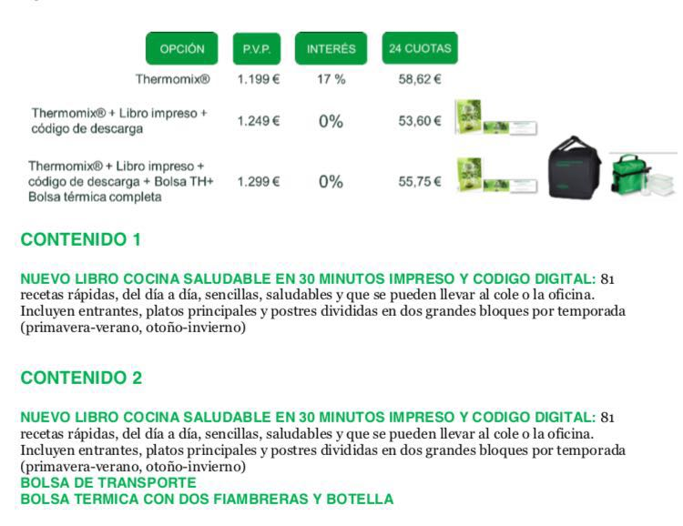 Edici n cocina saludable financiaci n 0 intereses for Cocina saludable en 30 minutos thermomix