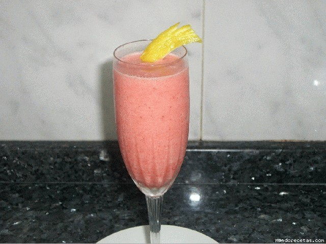 Sorbete Cremoso de Limón y Fresas Thermomix®