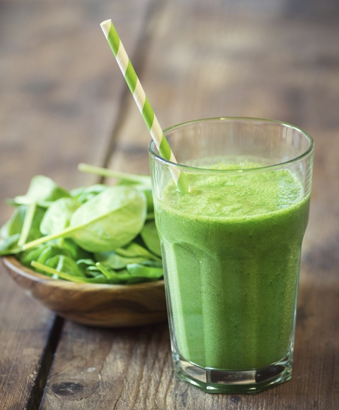 Smoothie verde - Pura vitamina