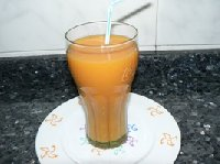 Batido de zanahorias y almendras Thermomix®