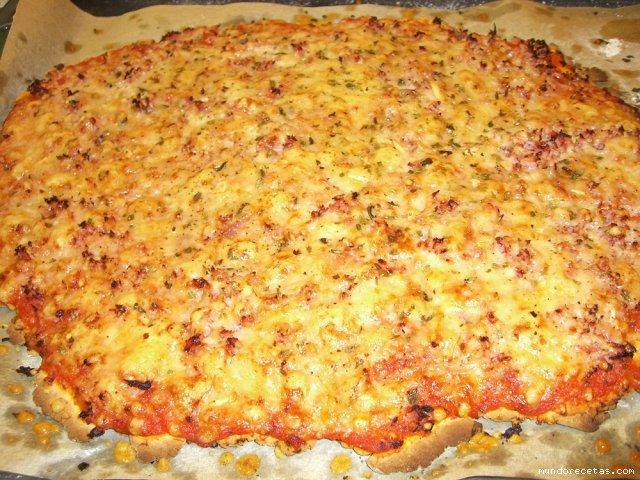 Pizza sin gluten Thermomix® y paso a paso