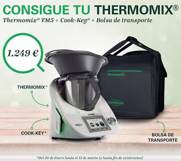 thermomix cook key bolsa de transporte precio de lanzamiento general blog de m del. Black Bedroom Furniture Sets. Home Design Ideas