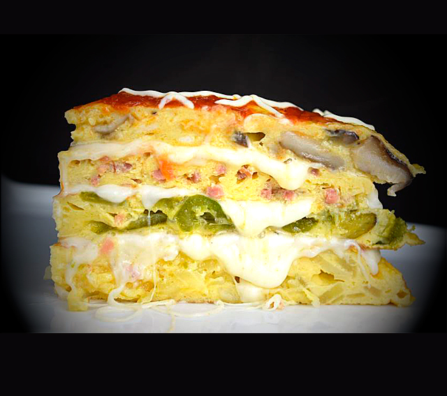 Pastel de Tortilla