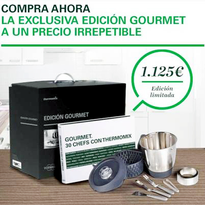 Promoción especial Gourmet
