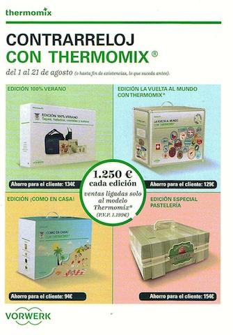 Contrarreloj con Thermomix® . Cuatro ediciones a elegir ¿cual es la tuya?
