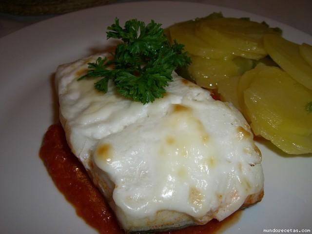 Bacalao gratinado con patatas a lo pobre Thermomix®