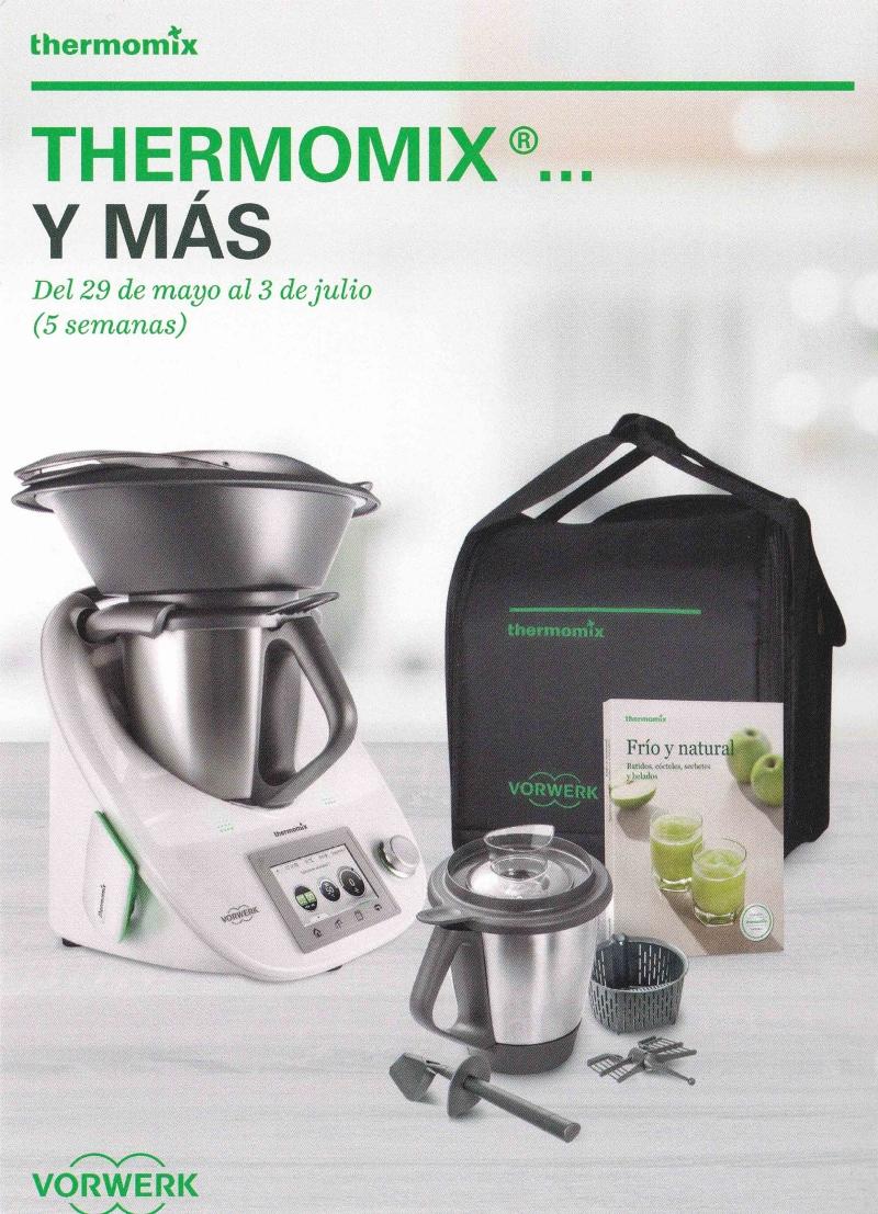 ¡¡¡Thermomix® con segundo vaso y bolsa de transporte al 0% de intereses!!! o con un beneficio de 127€