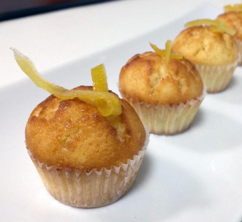 minicakes de lima-limón, sencillos y deliciosos!