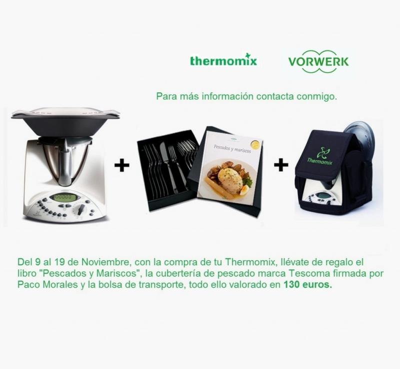 130 euros de regalo con la compra de tu Thermomix® !!!
