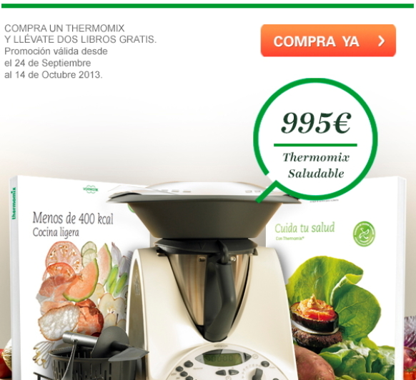 Promocion saludable con Thermomix®