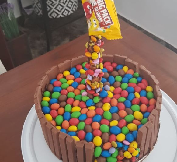 GRAVITY CAKE BY MONTSE CON Thermomix®