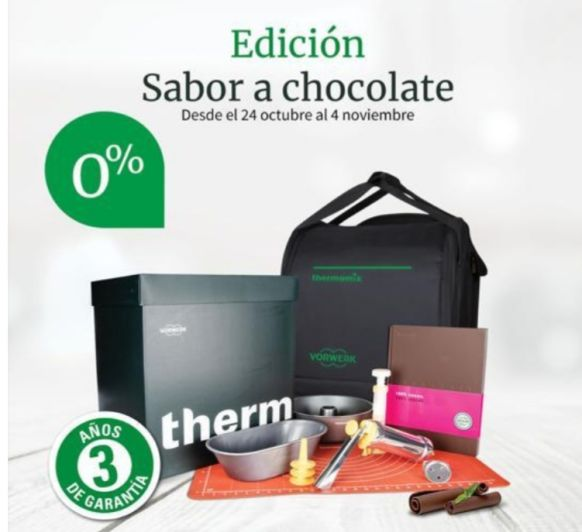 Thermomix® TM6 SIN INTERESES MAS EDICIÓN CHOCOLATE