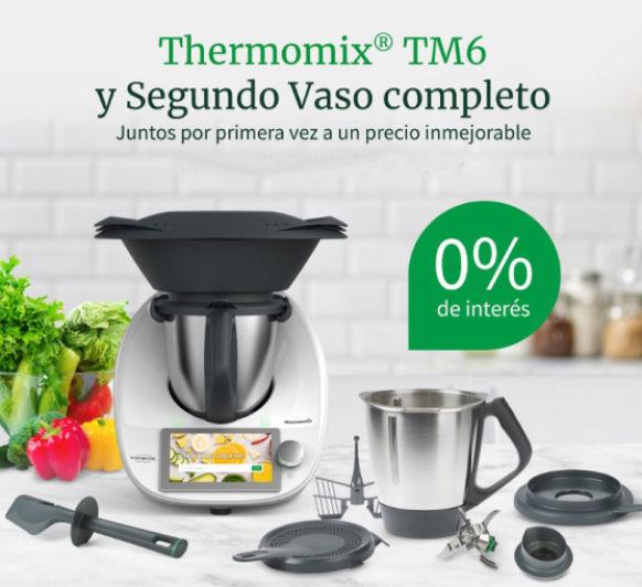 Últimos días Thermomix® TM6 y Segundo Vaso completo