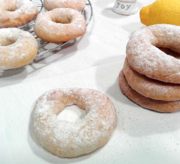 Cómo preparar rosquillas de limón sin azúcar