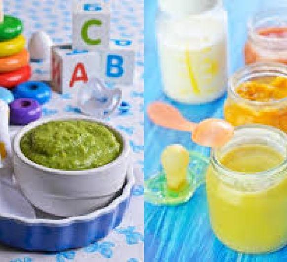 Purés de verduras para bebes con Thermomix®