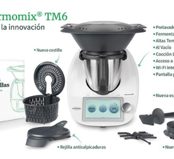 Nuevo Thermomix® TM6. Siente la innovación