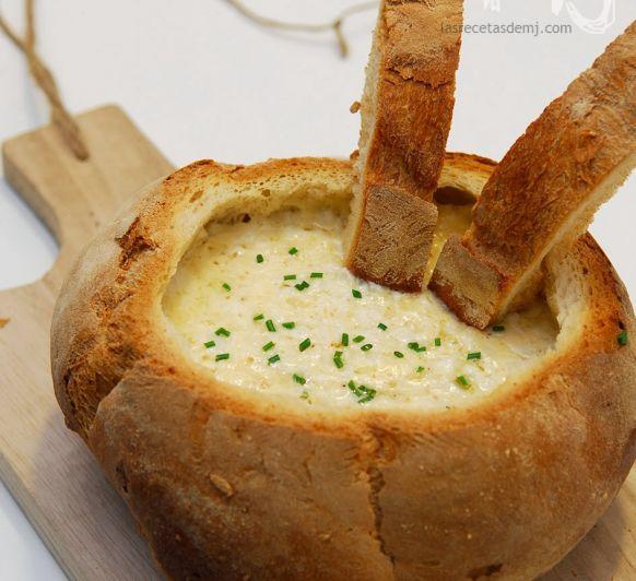 Fondue en pan payes con Thermomix®