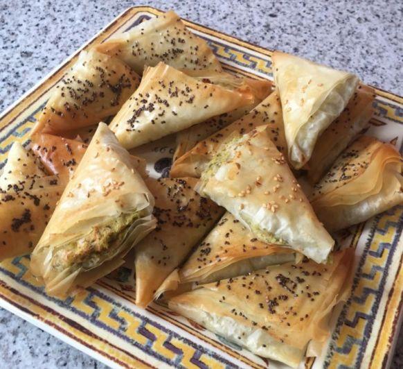 Rollitos de alcachofa y parmesano (TM31, TM5 y TM6)