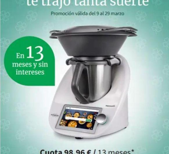 Thermomix® TM6 | Paga en 13 meses - 0% interés |Opción Thermomix®
