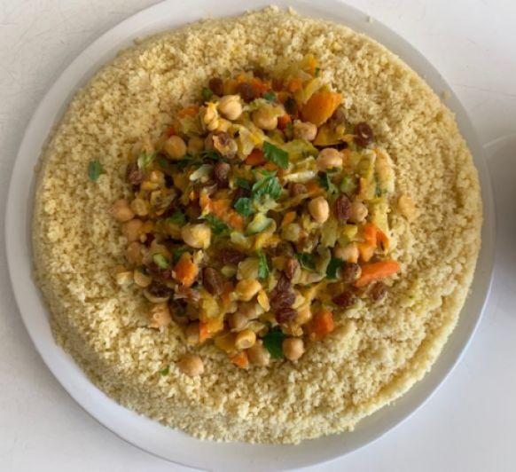 Cuscus especiado con verduras con Thermomix®