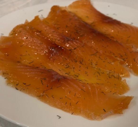 Como marinar salmón