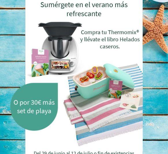 Compra tu Thermomix® Tm6 con la Edición Verano. ¡Sumérgete en el verano más refrescante!