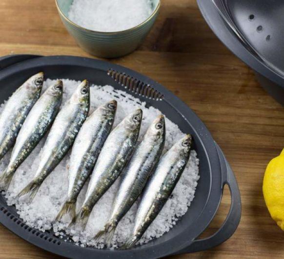 Sardinas a la sal en la Thermomix®