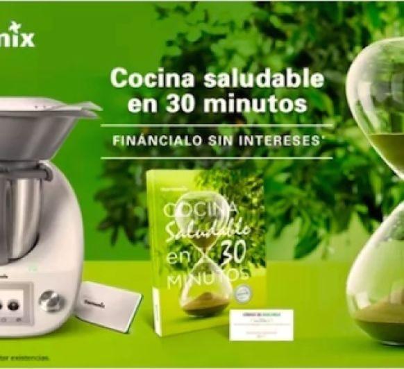 Edición cocina saludable en 30 minutos 0% SIN INTERESES