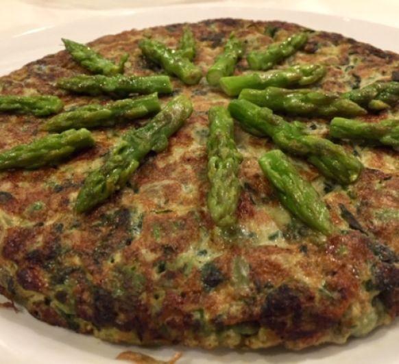 Tortilla de verduras con Thermomix®