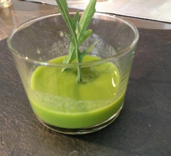 Gazpacho o Zumo Verde de Espinacas