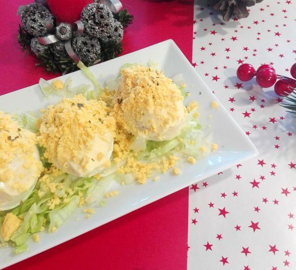 Cómo preparar huevos rellenos en Thermomix®
