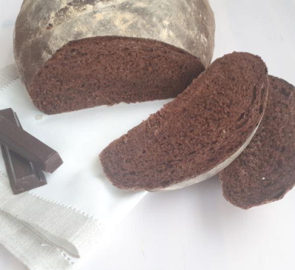 PAN de chocolate, tan fácil que te sorprenderá.
