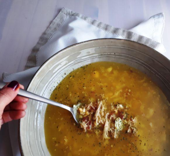 Sopa de picadillo, sencilla y reconfortante